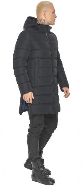"Чорна куртка чоловіча практична модель 49032 Braggart ""Aggressive"" фото 1"