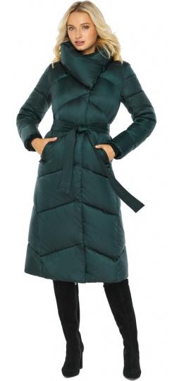 """Изумрудная куртка женская элегантная модель 47260 Braggart """"Angel's Fluff"""" фото 1"""