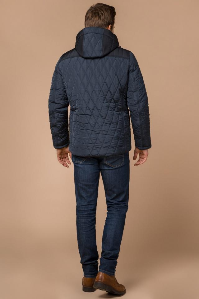 """Светло-синяя куртка стандартной длины зимняя мужская модель 30538 Braggart """"Dress Code"""" фото 5"""