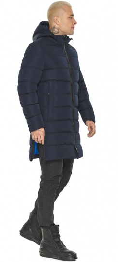 "Тёмно-синяя мужская куртка комфортная модель 49032 Braggart ""Aggressive"" фото 1"