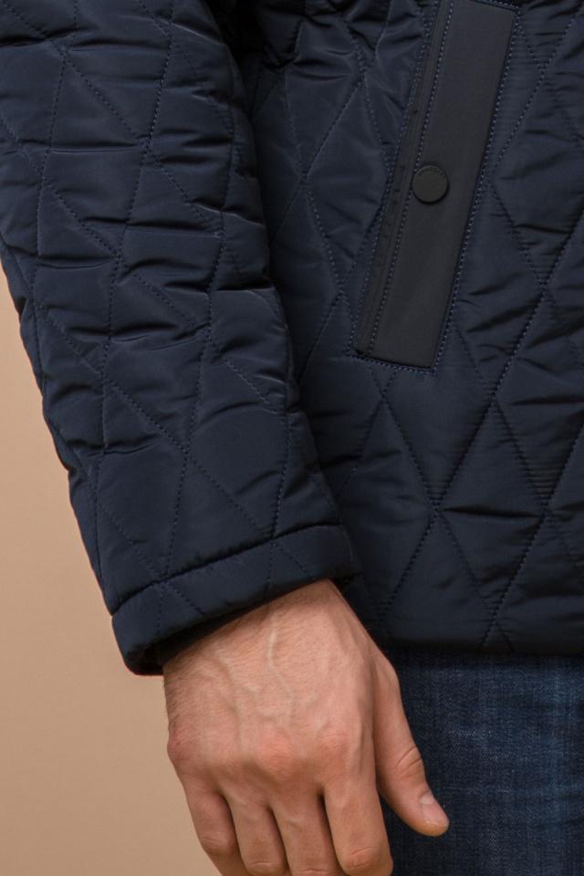 """Мужская зимняя куртка синего цвета теплая модель 30538 Braggart """"Dress Code"""" фото 7"""