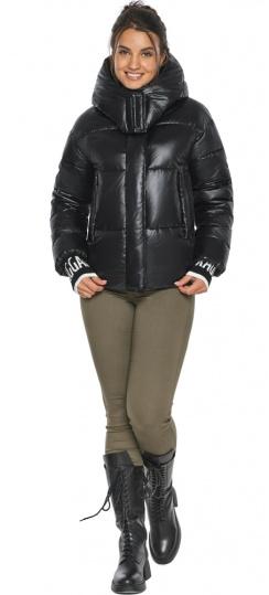 """Куртка черная зимняя женская комфортная модель 44520 Braggart """"Angel's Fluff"""" фото 1"""