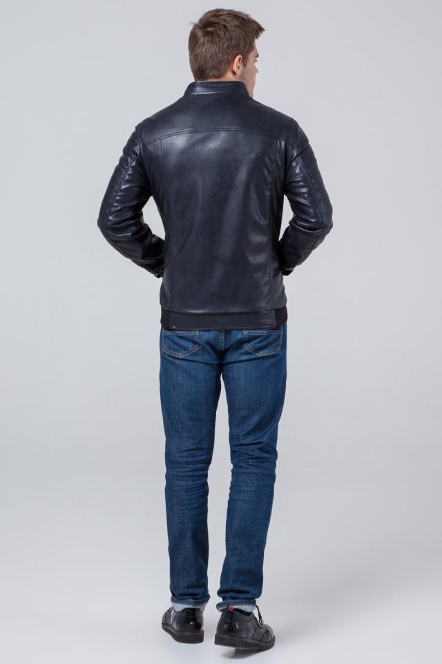 """Темно-синя коротка куртка осінньо-весняна для чоловіків модель 1588 Braggart """"Youth"""" фото 5"""