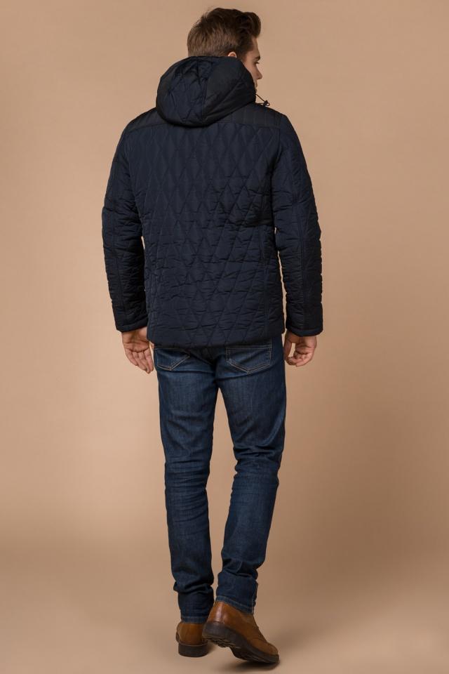 """Мужская зимняя куртка синего цвета теплая модель 30538 Braggart """"Dress Code"""" фото 5"""