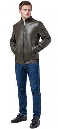 """Непромокальна чоловіча куртка осінньо-весняна кольору хакі модель 1588 Braggart """"Youth"""" фото 1"""
