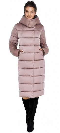 """Куртка с капюшоном женская цвета пудры модель 31028 Braggart """"Angel's Fluff"""" фото 1"""