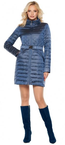 """Женская куртка на змейке цвет ниагара модель 39002 Braggart """"Angel's Fluff"""" фото 1"""