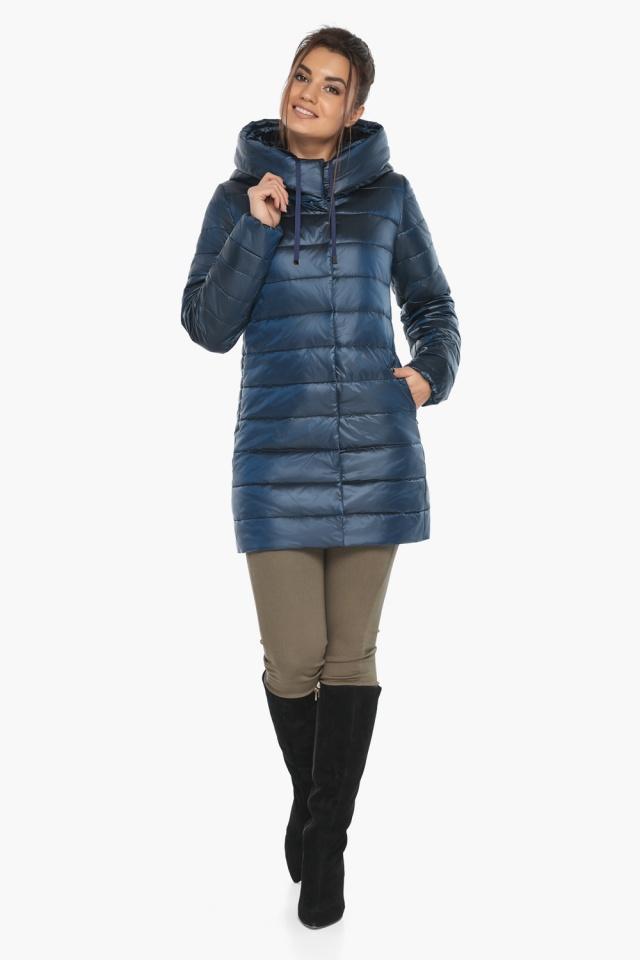 """Куртка модная женская цвет ниагара модель 65085 Braggart """"Angel's Fluff"""" фото 2"""