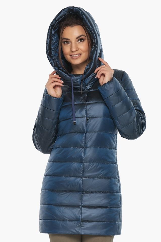 """Куртка модная женская цвет ниагара модель 65085 Braggart """"Angel's Fluff"""" фото 3"""