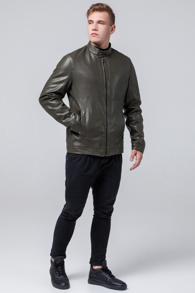 """Куртка цвета хаки осенне-весенняя мужская стандартной длины модель 2193 Braggart """"Youth"""" фото 4"""