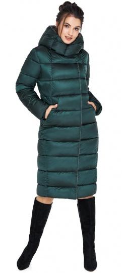 """Комфортная женская изумрудная куртка модель 31028 Braggart """"Angel's Fluff"""" фото 1"""