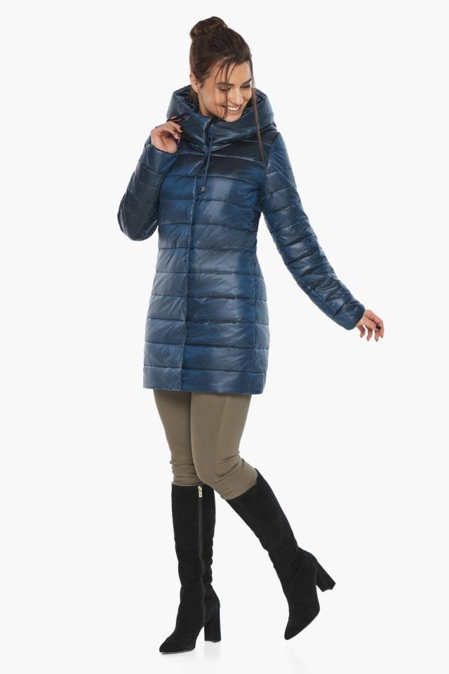 """Куртка модная женская цвет ниагара модель 65085 Braggart """"Angel's Fluff"""" фото 4"""