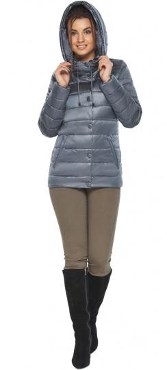"""Куртка с капюшоном женская цвет маренго модель 61030 Braggart """"Angel's Fluff"""" фото 1"""