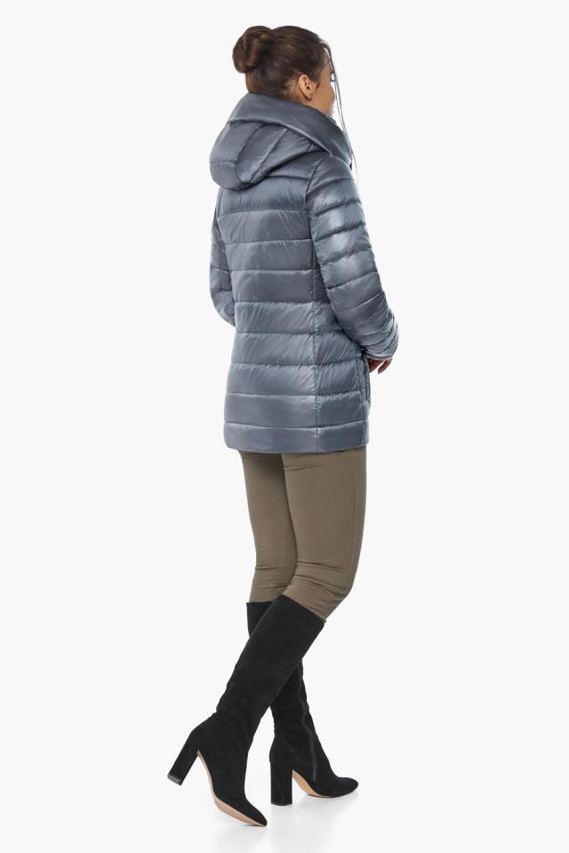 """Куртка с капюшоном женская цвет маренго модель 61030 Braggart """"Angel's Fluff"""" фото 6"""