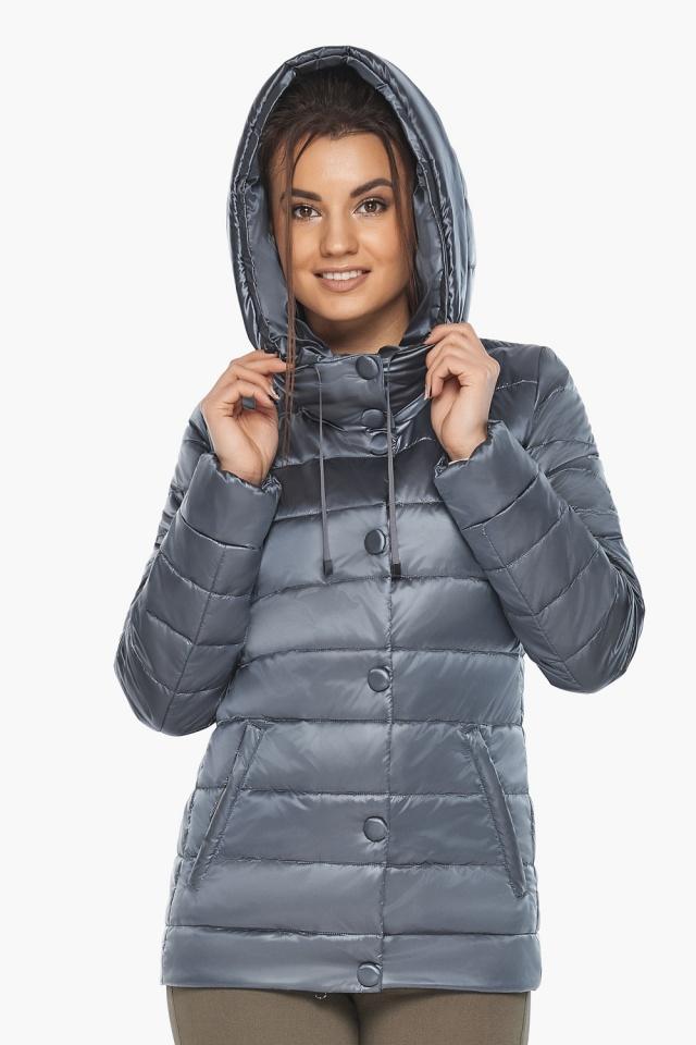 """Куртка с капюшоном женская цвет маренго модель 61030 Braggart """"Angel's Fluff"""" фото 5"""