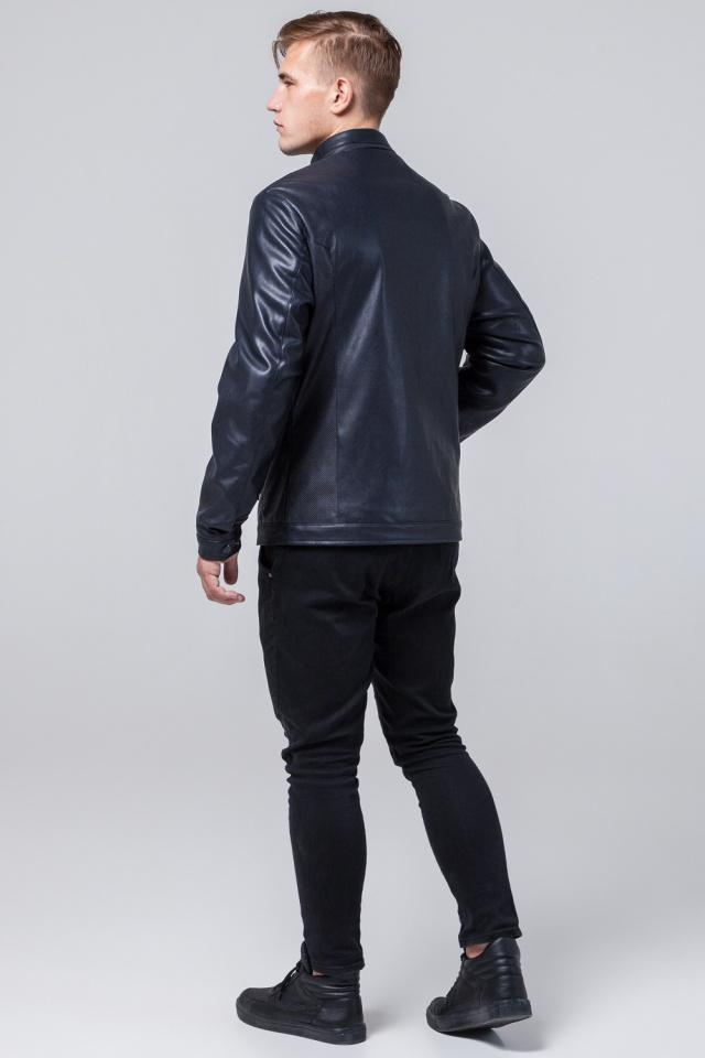 """Осенне-весенняя куртка мужская цвет темно-синий модель 2193 Braggart """"Youth"""" фото 5"""