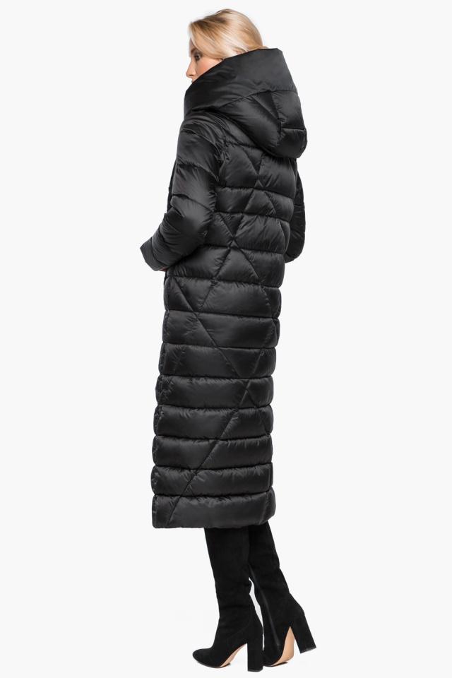 """Трендовая черная женская куртка зимняя модель 31058 Braggart """"Angel's Fluff"""" фото 7"""