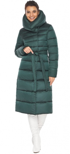 """Куртка зимняя женская зелёная модель 31515 Braggart """"Angel's Fluff"""" фото 1"""