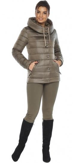"""Женская капучиновая куртка на молнии модель 61030 Braggart """"Angel's Fluff"""" фото 1"""