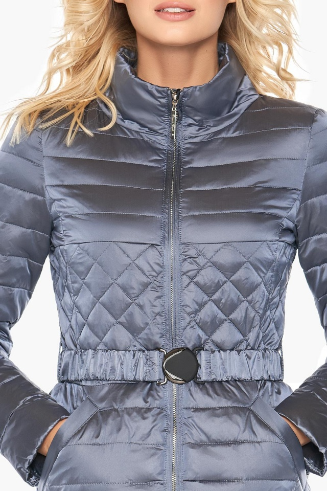"""Женская куртка стеганая цвет маренго модель 39002 Braggart """"Angel's Fluff"""" фото 6"""