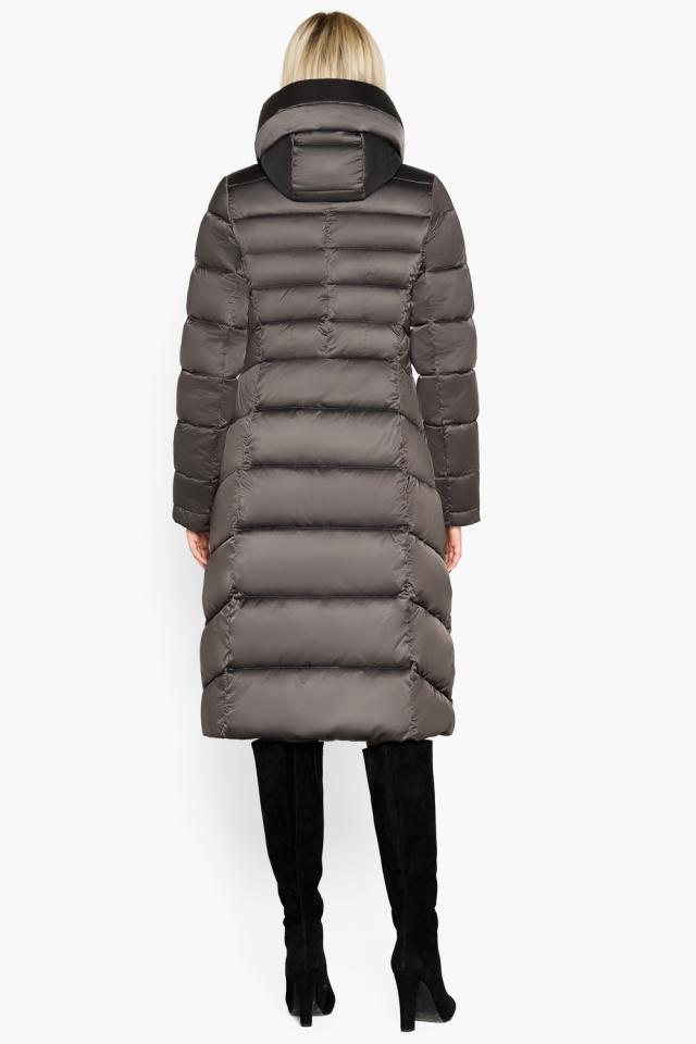 Зимняя куртка женская цвет капучино модель 31515