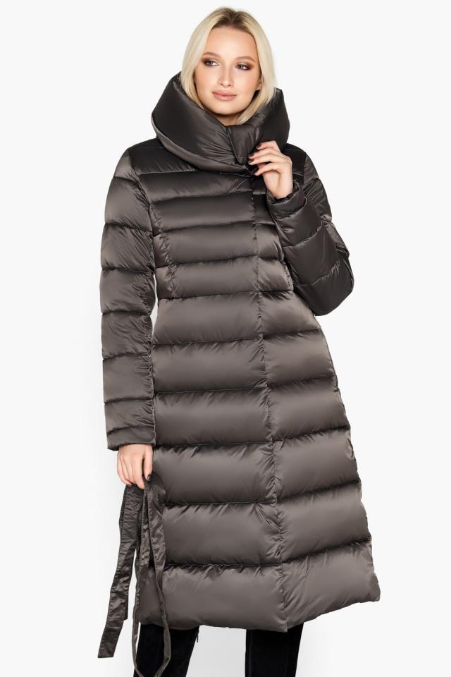 """Зимняя куртка женская цвет капучино модель 31515 Braggart """"Angel's Fluff"""" фото 5"""
