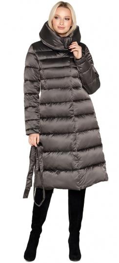 """Зимняя куртка женская цвет капучино модель 31515 Braggart """"Angel's Fluff"""" фото 1"""