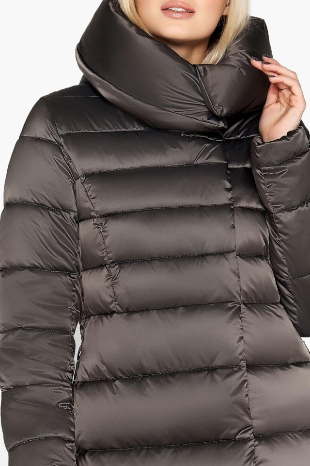 """Зимняя куртка женская цвет капучино модель 31515 Braggart """"Angel's Fluff"""" фото 7"""