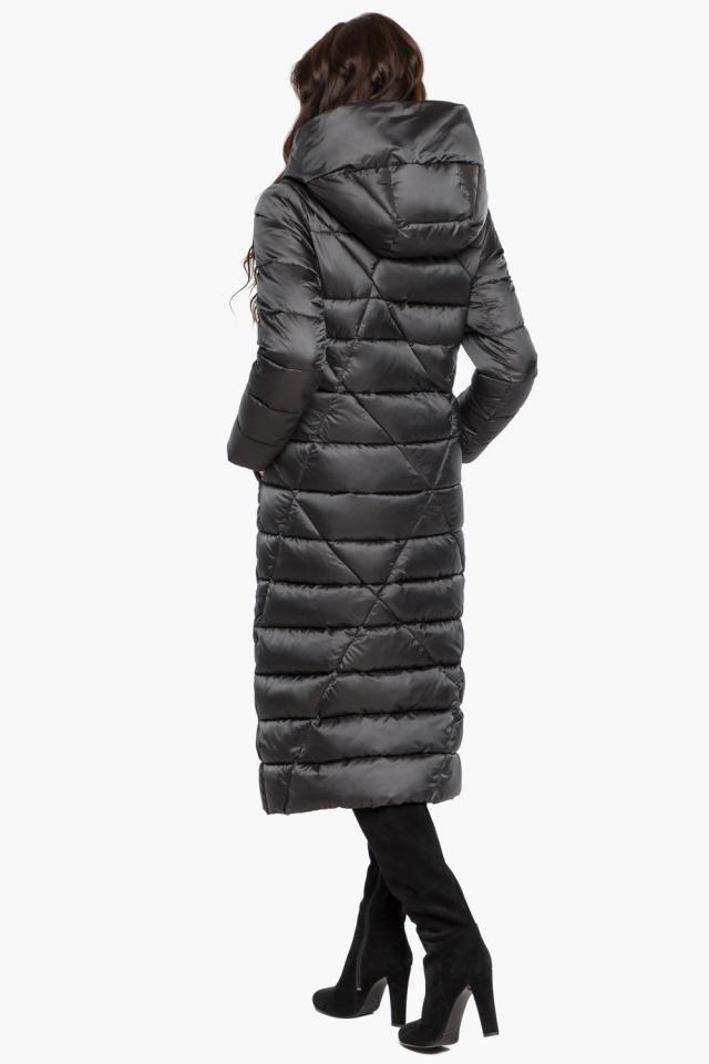 """Графитовая женская куртка на зиму модель 31058 Braggart """"Angel's Fluff"""" фото 7"""