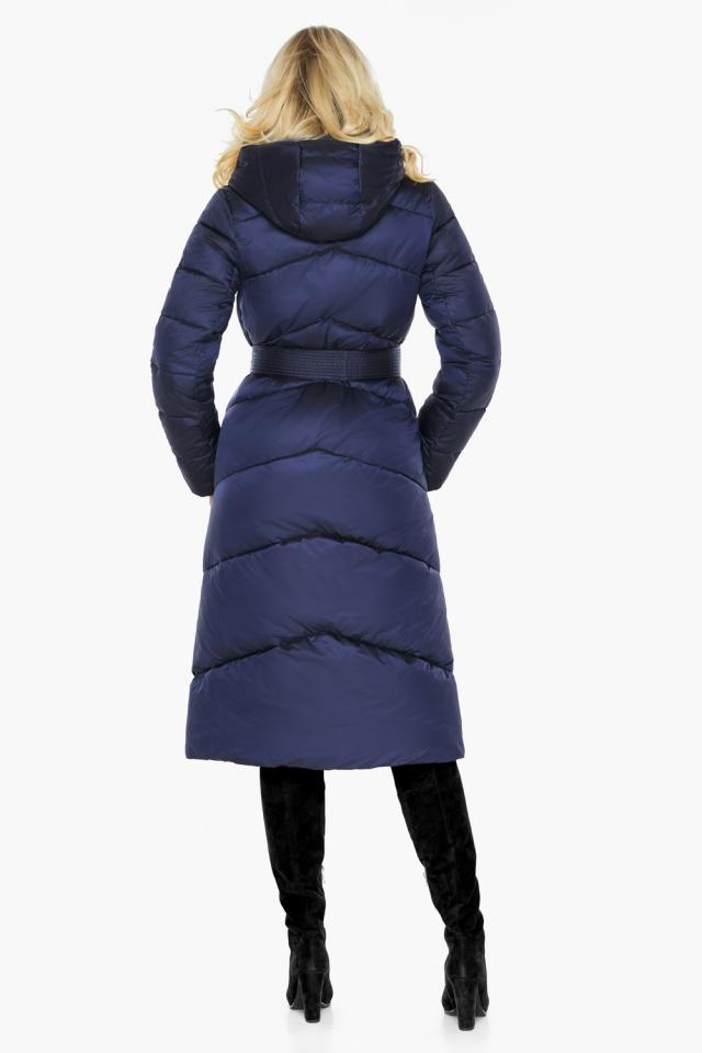 """Куртка зимняя женская теплая цвет синий бархат модель 47260 Braggart """"Angel's Fluff"""" фото 6"""