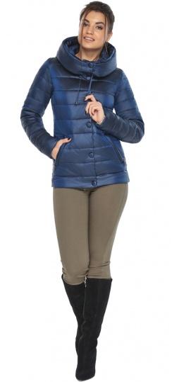 """Женская куртка оригинальная цвет сапфировый модель 61030 Braggart """"Angel's Fluff"""" фото 1"""