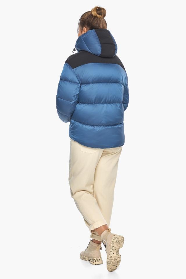 """Куртка женская стильная аквамариновая модель 57520 Braggart """"Angel's Fluff"""" фото 8"""