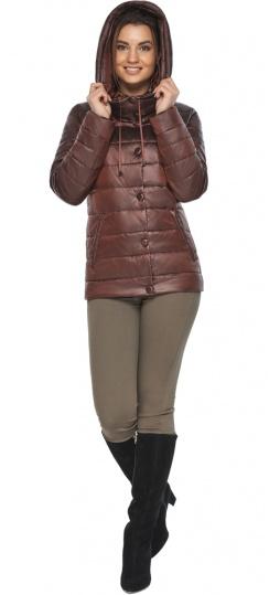 """Куртка каштановая женская фирменная модель 61030 Braggart """"Angel's Fluff"""" фото 1"""