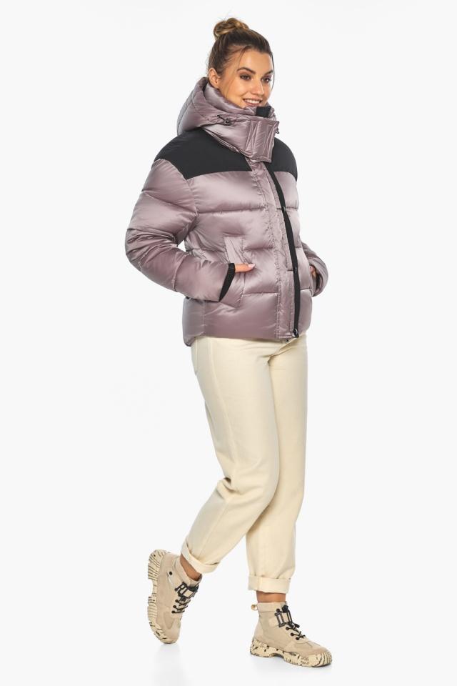 """Куртка пудровая элегантная женская модель 57520 Braggart """"Angel's Fluff"""" фото 4"""