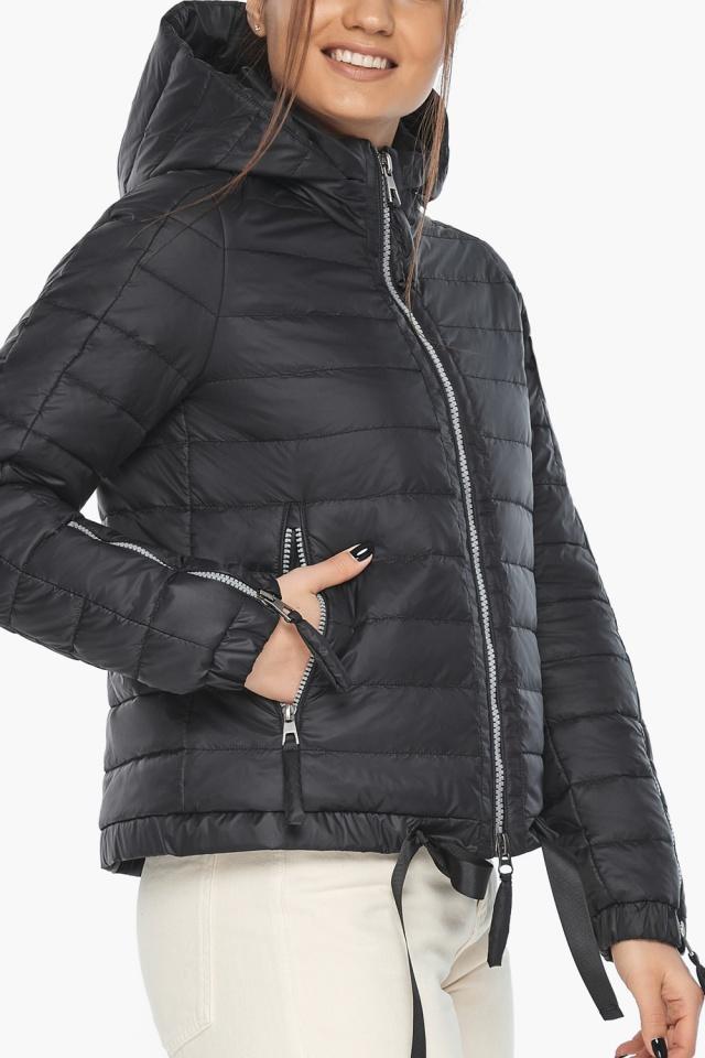 """Оригинальная куртка женская черная модель 62574 Braggart """"Angel's Fluff"""" фото 7"""