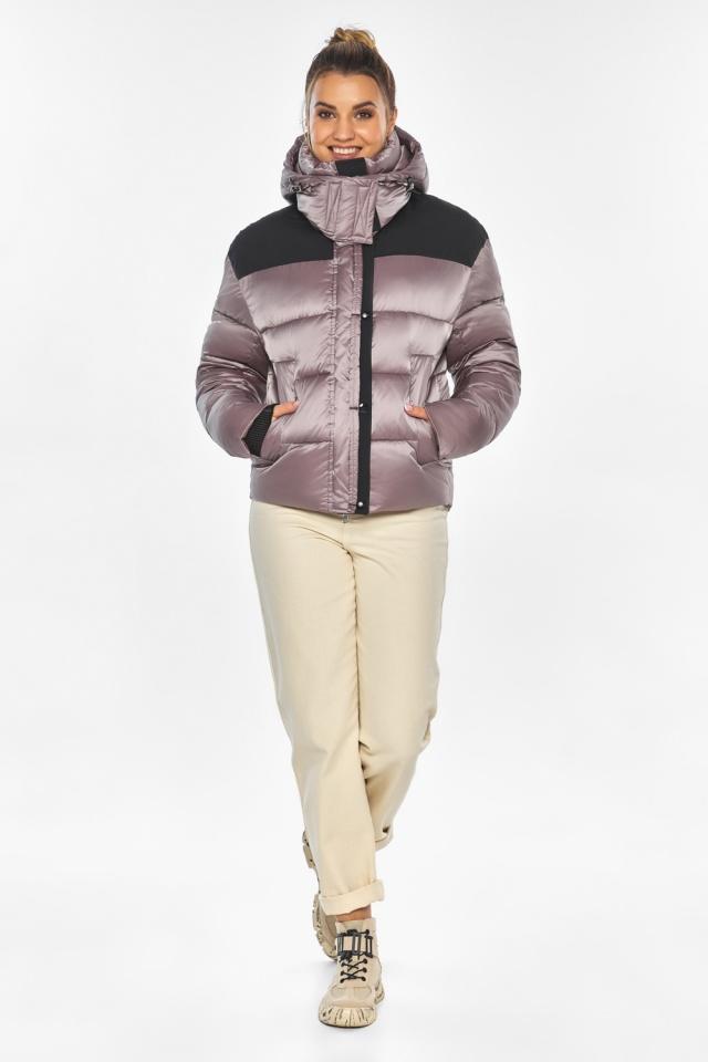 """Куртка пудровая элегантная женская модель 57520 Braggart """"Angel's Fluff"""" фото 2"""