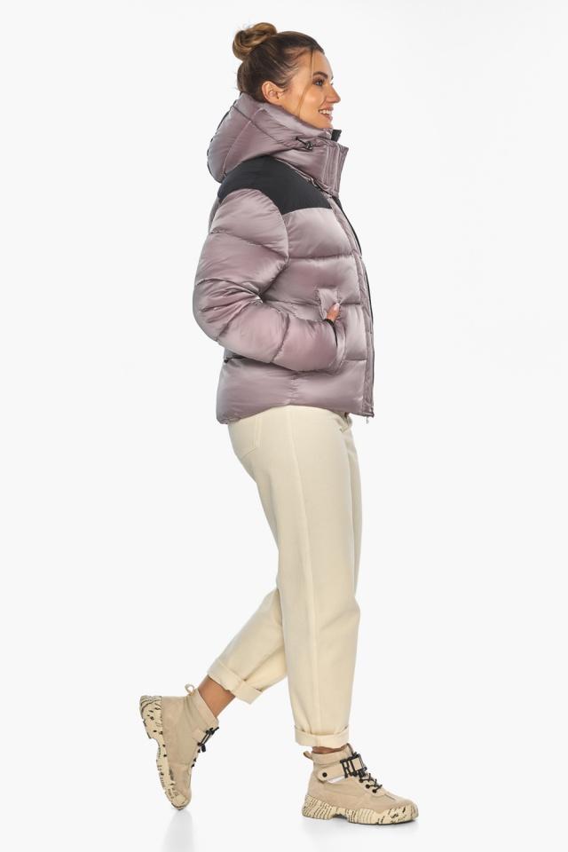 """Куртка пудровая элегантная женская модель 57520 Braggart """"Angel's Fluff"""" фото 7"""