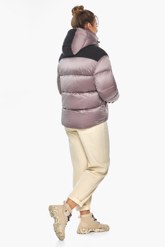 """Куртка пудровая элегантная женская модель 57520 Braggart """"Angel's Fluff"""" фото 8"""