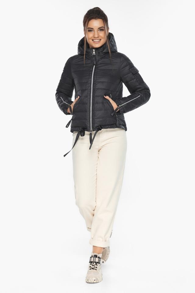"""Оригинальная куртка женская черная модель 62574 Braggart """"Angel's Fluff"""" фото 2"""