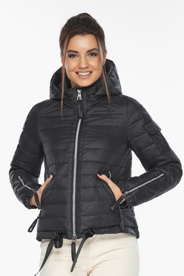 """Оригинальная куртка женская черная модель 62574 Braggart """"Angel's Fluff"""" фото 5"""