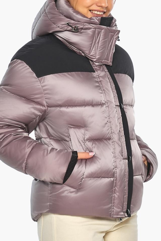 """Куртка пудровая элегантная женская модель 57520 Braggart """"Angel's Fluff"""" фото 9"""
