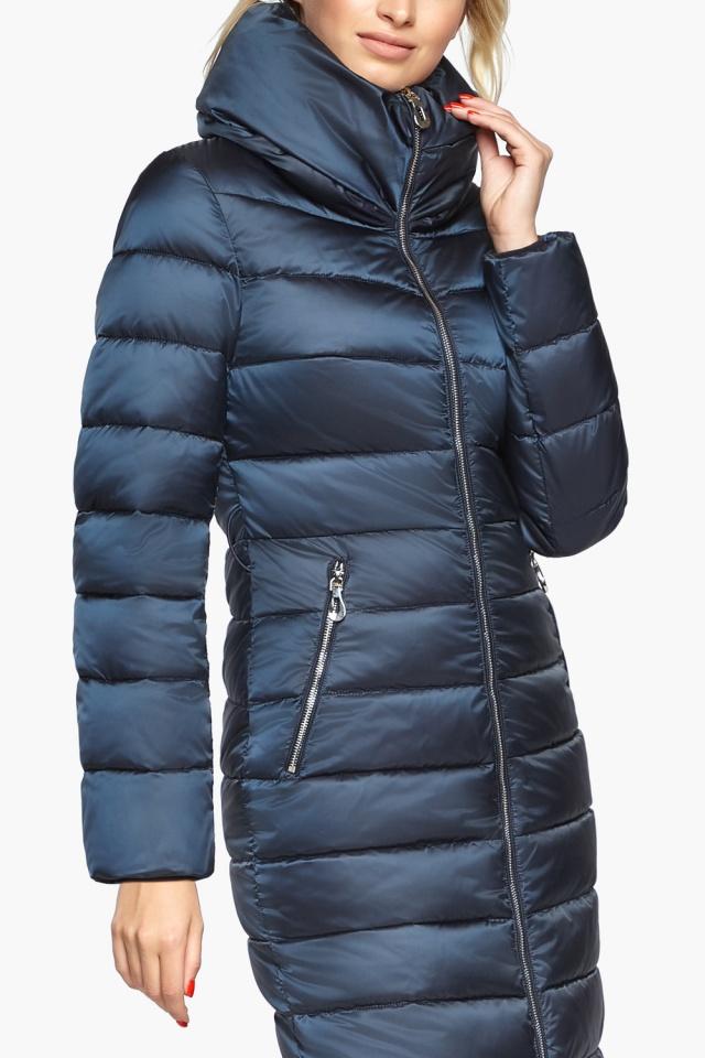 """Сапфірова куртка осінньо-весняна жіноча модель 31074 Braggart """"Angel's Fluff"""" фото 6"""