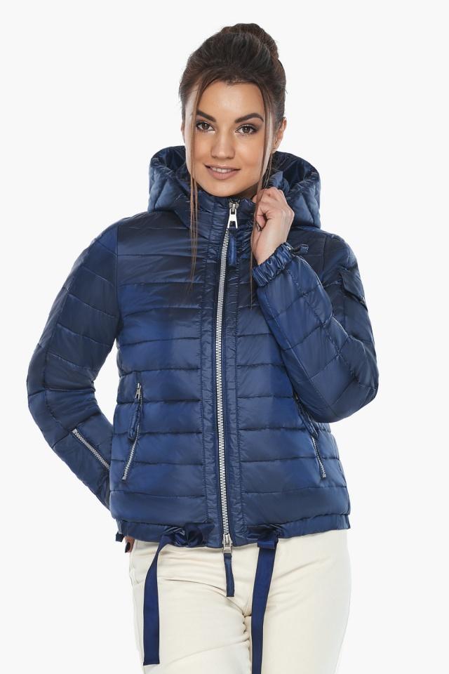 """Сапфировая куртка люксовая женская модель 62574 Braggart """"Angel's Fluff"""" фото 5"""
