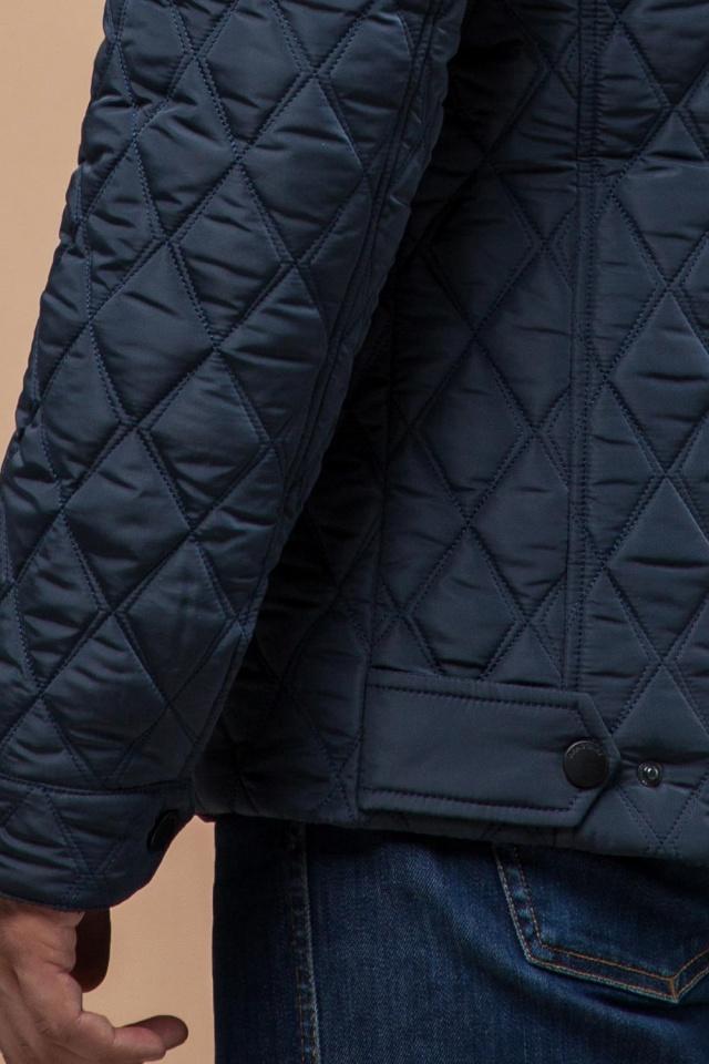 """Мужская качественная светло-синяя куртка на зиму модель 1698 Braggart """"Dress Code"""" фото 7"""