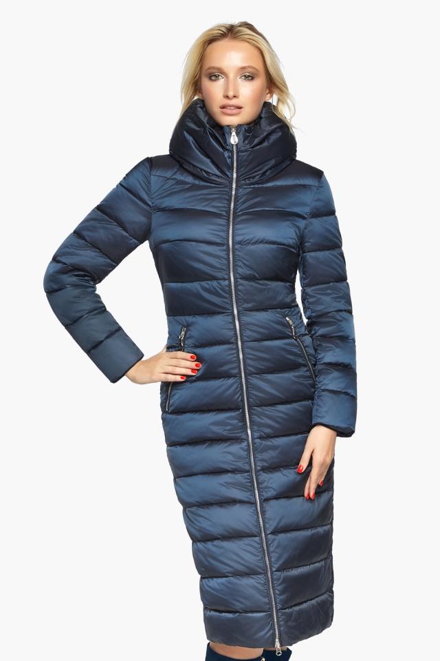 """Сапфірова куртка осінньо-весняна жіноча модель 31074 Braggart """"Angel's Fluff"""" фото 4"""
