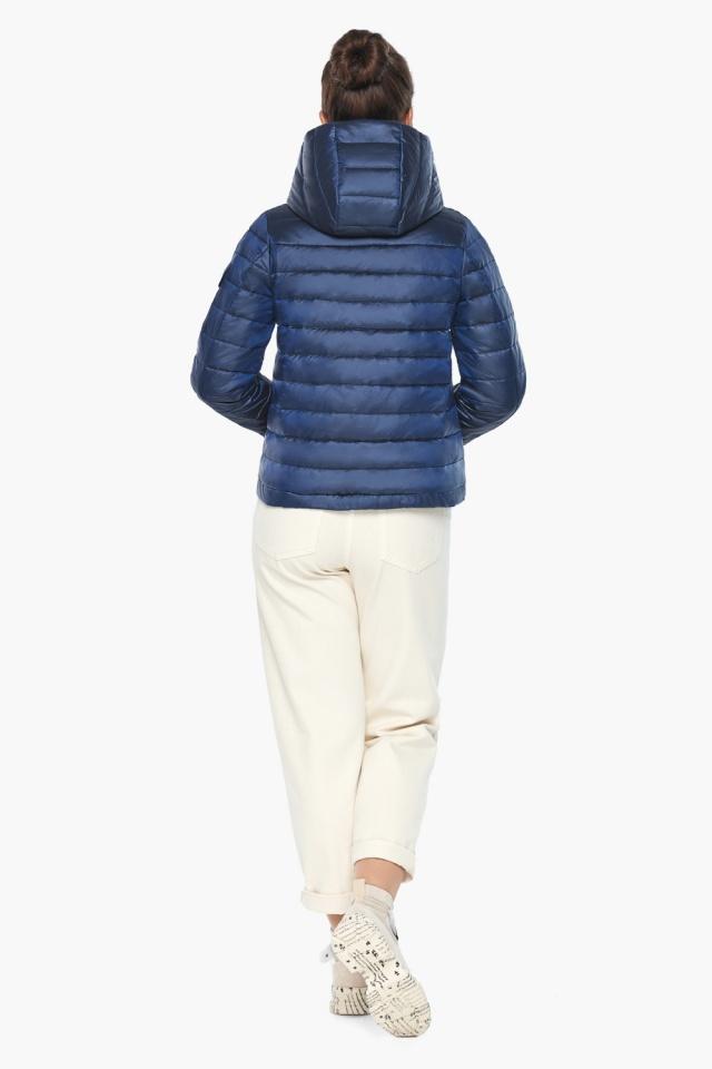 """Сапфировая куртка люксовая женская модель 62574 Braggart """"Angel's Fluff"""" фото 6"""