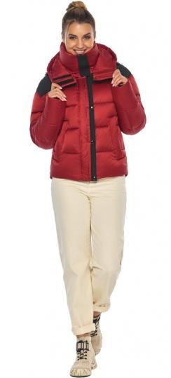 """Рубиновая куртка трендовая женская модель 57520 Braggart """"Angel's Fluff"""" фото 1"""