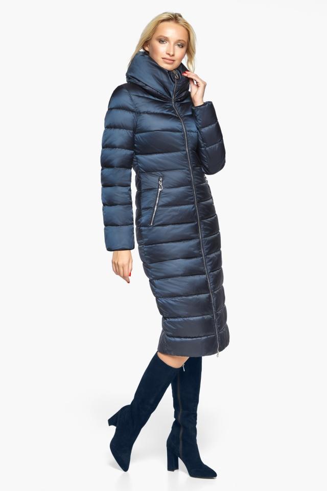 """Сапфірова куртка осінньо-весняна жіноча модель 31074 Braggart """"Angel's Fluff"""" фото 3"""