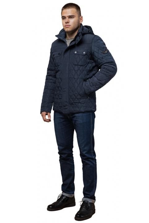 """Мужская качественная светло-синяя куртка на зиму модель 1698 Braggart """"Dress Code"""" фото 1"""