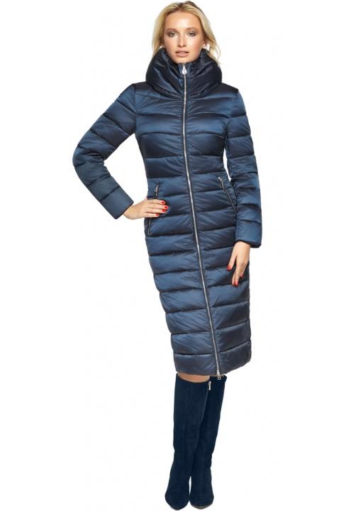 """Сапфірова куртка осінньо-весняна жіноча модель 31074 Braggart """"Angel's Fluff"""" фото 1"""